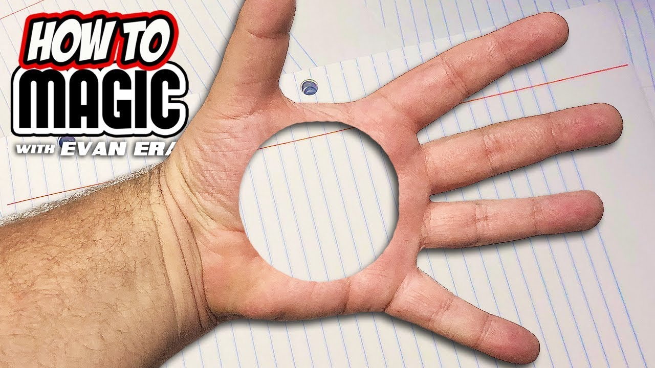 6 Easy Magic Tricks with Paper - YouTube