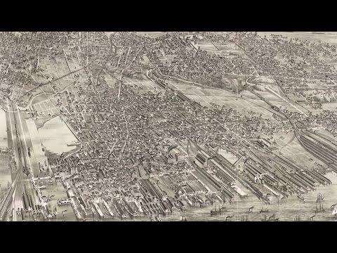 Jersey City NJ History and Cartograph (1883)