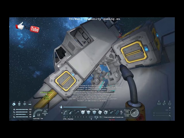 Jetzt auch mit Licht ! - Folge #010 - Let's Play Space Engineers