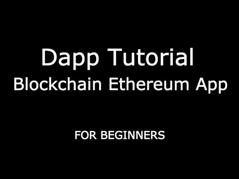 Tutorial dapp with Solidity, Truffle, Web3 and Javascript