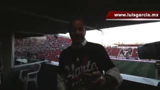 EL DR GARCÍA EN SU VIDEOBLOG (72) DESDE EL ESTADIO CALIENTE PARA WWW.LUISGARCIA.MX