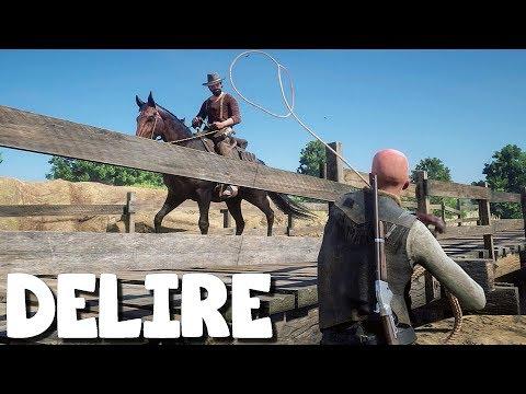 DEUX FOUS EN LIBERTÉ (Vidéo-Délire) Red Dead Redemption 2 Online avec Saw6 #13 thumbnail