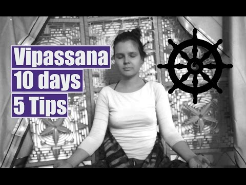 5 Tips for your first 10 day Vipassana meditation course || HUNGARIAN & ENGLISH SUBTITLES