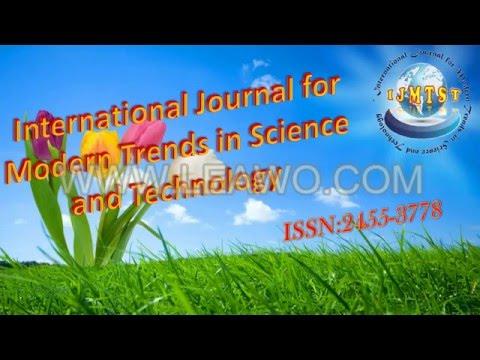 IJMTST Journal (ISSN:2455-3778)