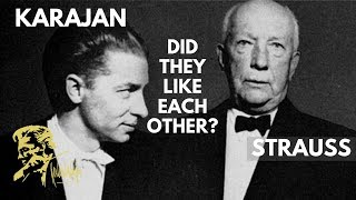 When Karajan met Strauss in person (2019)