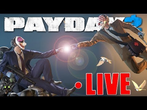 """Payday 2 """"I see you move, and my gun here introduces herself. Got it?"""