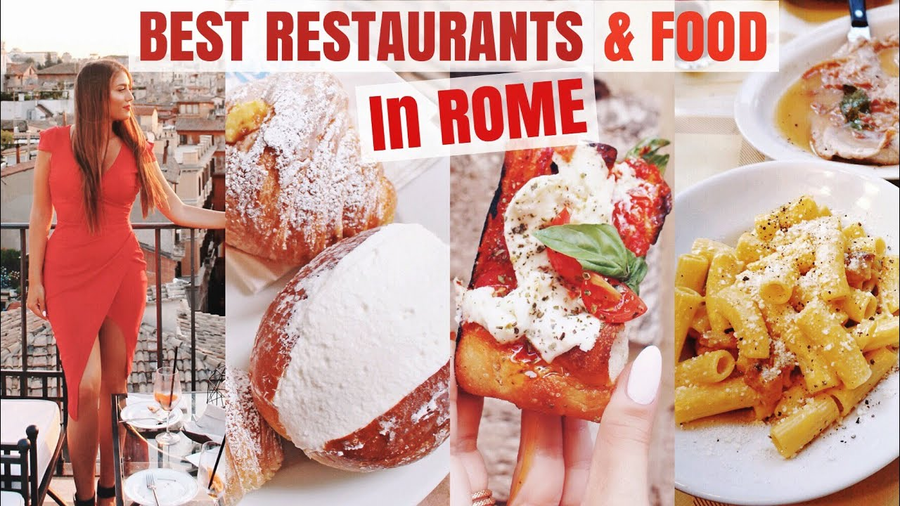 Best Restaurants In Rome | What & Where To Eat In Rome
