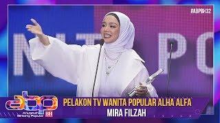 Mira Filzah - Pelakon TV Wanita Popular Alha Alfa | #ABPBH32