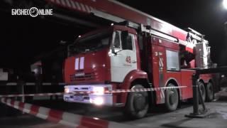 Пожар на Пороховом  спецслужбы у проходной