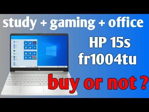HP 15S fr1004tu core i3 10th gen laptop | best value deal for office usage or study | hp fr1004tu