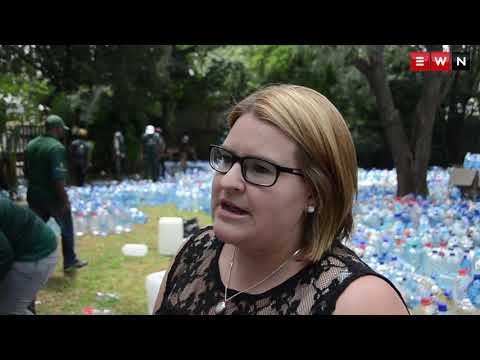 Joburg woman helps collect 69 tons of water for Cape Town's animal shelters