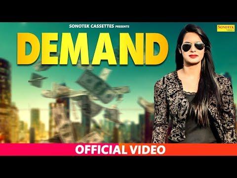 Demand | Anshu Rana, Ajay Panchal | GR | Latest Haryanvi Songs Haryanvi 2019 | Sonotek
