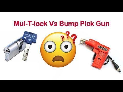 Bumping Gun Vs Mul-T-Lock Interactive High Security