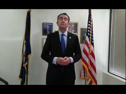 Candidate Ralph Northam  for governor in Virginia Democratic Primary Election 2017