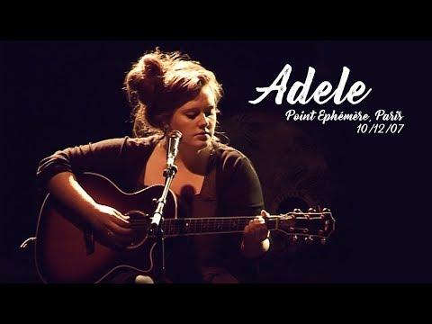 Adele live at Le Point Ephémère 2007