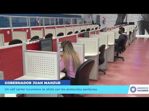 Un call center tucumano se alista con los protocolos sanitarios