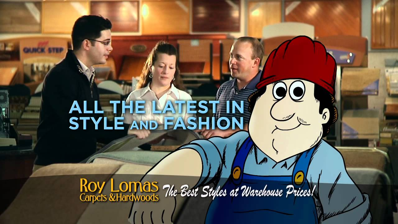 Roy Lomas Carpets Commercial - 2011 - YouTube