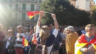 Manifestación a favor de las Fuerzas y Cuerpos de Seguridad del Estado