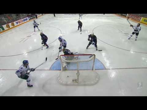 FIN - USA 1-2 maali verkon läpi / Goal thru the net