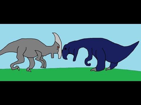 BRS3 Maiasaura Vs Parasaurolophus