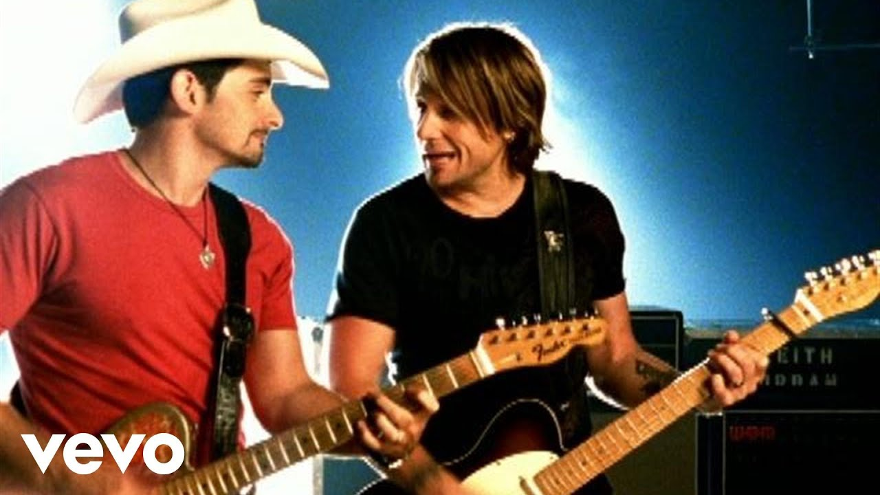 Brad Paisley - Start A Band (Duet With Keith Urban) - YouTube