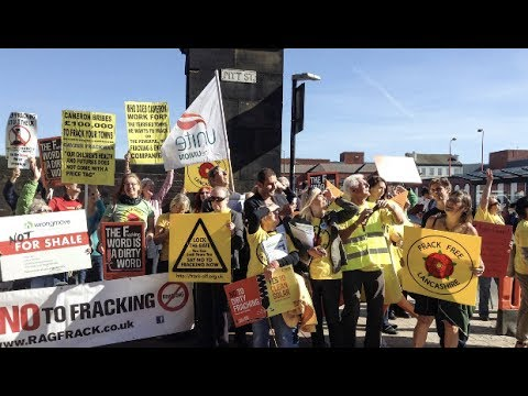 Lancashire Community 'Put Their Bodies On the Line' to Protest UK Fracking Site
