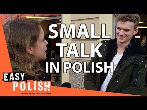 Small talk: how to start a conversation in Polish? | Easy Po