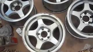 Video How to Strip Clear Coat off Alloy wheels Aluminum Wheels. DULL WHEEL FIX download MP3, 3GP, MP4, WEBM, AVI, FLV Agustus 2018