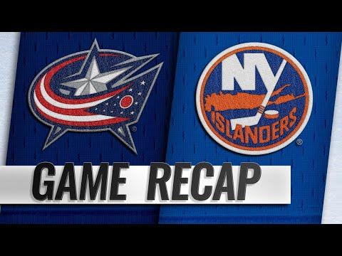 Islanders top Blue Jackets in Nassau Coliseum return