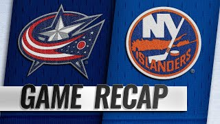 Islanders top Blue Jackets in Nassau Coliseum return