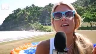 Bia e Branca Feres da MTV voam de Parapente com a Equipe ActionFly no Rio