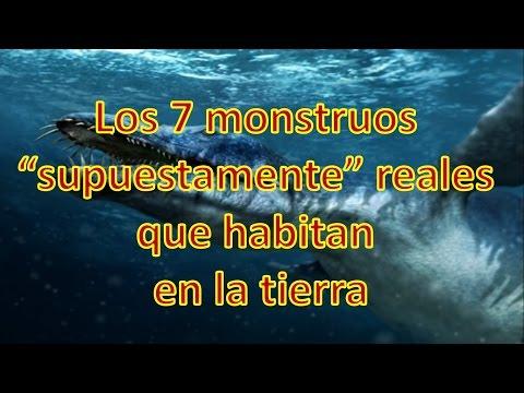 Los 7 monstruos supuestamente reales que habitan en la tierra