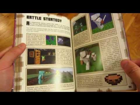 Minecraft Combat Book - Page By Page Every Page