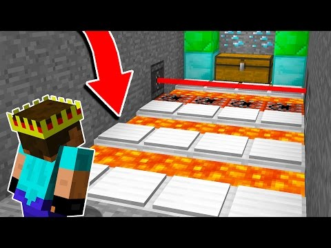 WHATEVER YOU DO... DON'T TOUCH THE FLOOR! (Minecraft Trolling)
