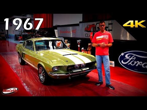 1967 SHELBY GT500 Cobra Mustang Fastback - Quick Look in 4K