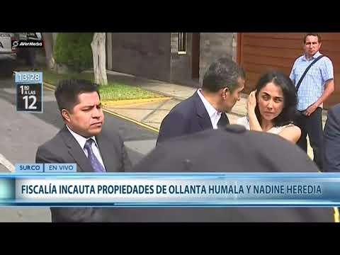 Ollanta Humala y Nadine Heredia sobre el embargo de su casa [Canal N]