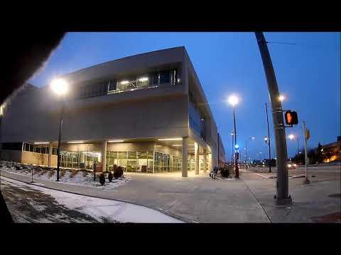 Indiana University Northwest Campus Edition - Night View - Exploring Gary, Indiana