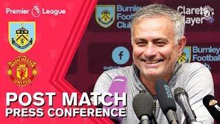 "Jose Mourinho: ""A big result & three important points"" | Burnley 0-2 Man Utd | Press Conference"