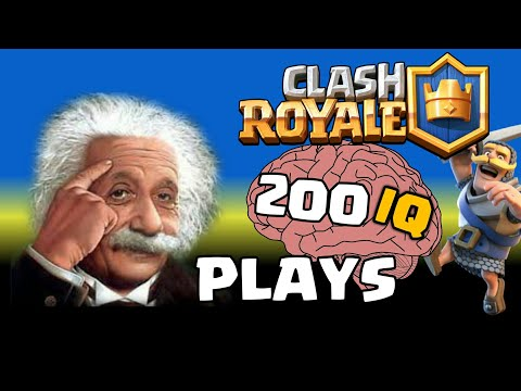 Clash Royale - WHEN PLAYERS HAVE 200 IQ (Smartest Plays Ever)
