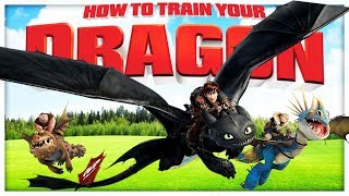 AMAZING HOW TO TRAIN YOUR DRAGON CASTLE DEFENCE - Modded Minecraft minigame