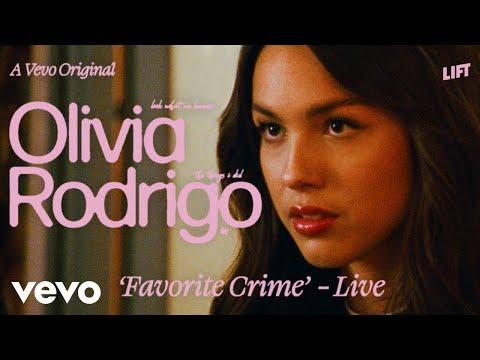 Olivia Rodrigo – favorite crime (Live Performance) | Vevo LIFT