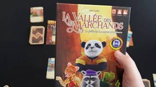 La vallee des marchands VF - Regle du jeu VF -  Bragelonne #223
