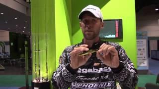Aaron Martens - ICAST 2012 - Megabass Baits