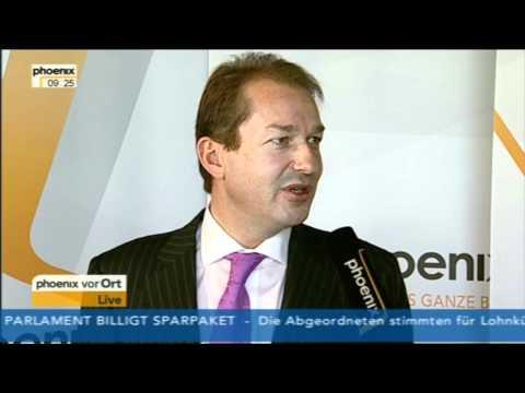 Alexander Dobrindt (CSU) im PHOENIX-Interview