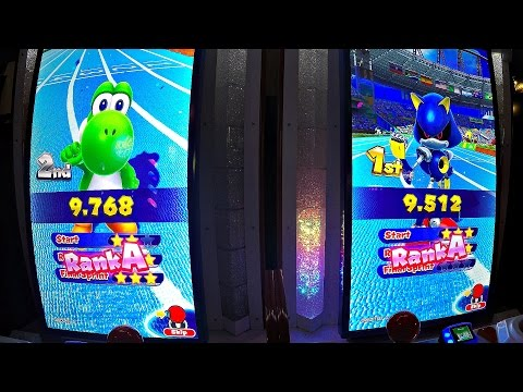 Mario & Sonic At Rio 2016 Olympic Games Arcade Edition: Metal Sonic New World Record 100m