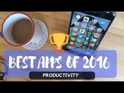 THE BEST APPS OF 2016: AWARDS 🏆