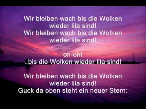 Marteria ft Miss Platnum & Yasha - Lila Wolken - Lyrics