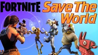 Fortnite Save The World | The very beginning of Saving The World in Fortnite Avomance Style