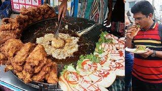 Best Street Food 2019 # Yummy Chicken Burgar at Tk 60 per piece Crispy & Tasty Big Burger
