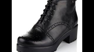 Видеообзор ботинки женские ditto 2034